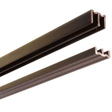plastic track and guides for sliding doors 72 walnut