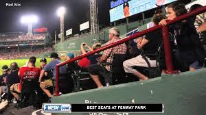 The Best Seats In Fenway Park