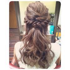 ヘアアレンジハーフアップヘアhairarrange Hair Style ヘア