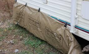 diy trailer skirt insulation