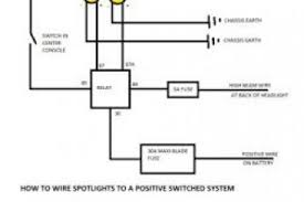 4 pin relay spotlight wiring diagram 4 wiring diagrams how to wire spotlights into high beam at Spotlight Wiring Diagram Relay