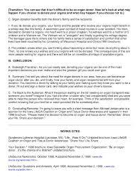 persuasive speech organ donation % original thesis custom footer image