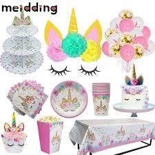 <b>MEIDDING Unicorn Party Decor</b> Birthday Latex Balloons Unicorn ...