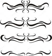 Vector Engraving Scroll Designs Scroll Design Stock