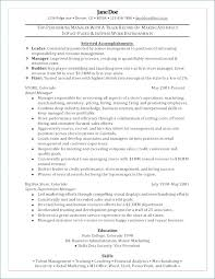 Clothing Store Manager Resume Sample Resume For Store Manager