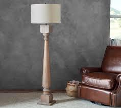 Finn Turned Wood Floor Lamp Base Products Wood Floor Lamp Table