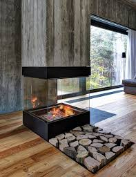cool concrete fireplace logs le amazing concrete fireplace logs le