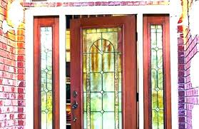 glass ior front doors replacement door coolest insert with entry beveled stained exterior uk entry door