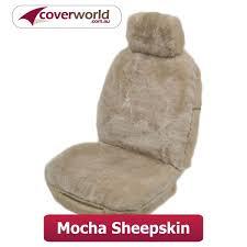 tailor made sheepskin car seat cover