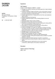 Cad Designer Resume Perfect Resume