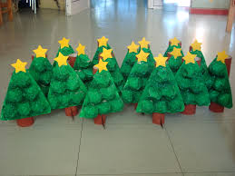 Egg Carton Christmas Trees  Mermaids MakingsChristmas Crafts With Egg Cartons