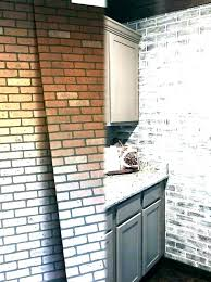 indoor faux brick wall home depot panels interior canada