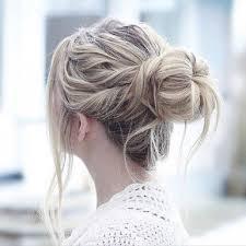 تسريحات شعر بسيطة لاخت العروس من انستقرام مجلة هي
