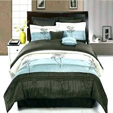 comforter sets with matching curtains turquoise and brown bedding set twin chocolate m