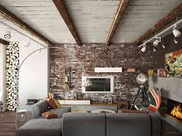 living rooms with exposed brick walls for painting interior brick wall ideas 2018