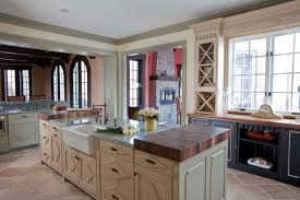 French Country Kitchen In Brookville Long Island Nice Design