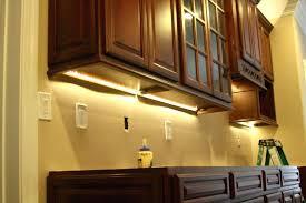 above cabinet lighting led kitchen