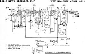 model a schematics wiring library westinghouse model h 133 schematic rf cafe