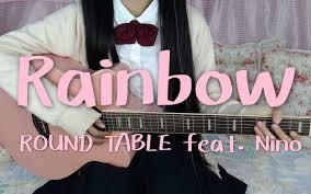 吉他弹唱 rainbow 水星领航员ed1 哔哩哔哩 つロ干杯 bilibili