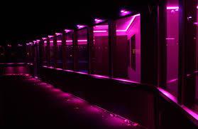 led purple