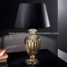 baccarini venetian crystal table lamp 1