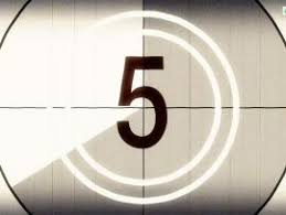 Film Leader Countdown Backgrounds For Powerpoint Templates