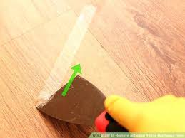 remove glue from wood floors removing adhesive from wood floors image titled remove adhesive from a remove glue from wood floors