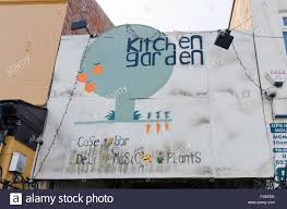 The Kitchen Garden Cafe Sign For The Kitchen Garden Cafe Bar And Plant Shop In Kings