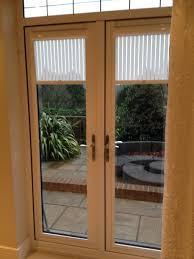 Window Treatments Metal Doors Door Window Blinds Woven Wood Sliding Panel Amazing Window