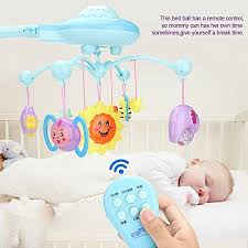 Mobile Music Bed Bell Hanging Rotating Projecting Baby Educational Toy Newborn Gift Buy Generic