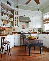 Brick Floors In Kitchen How To Seal Interior Brick Floors Amazing Unique Shaped Home Design