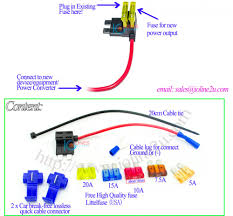 car fuse holder box fuse tap plug harmless take power no cut wire car fuse holder box fuse tap plug harmless take power no cut wire 18mm 5