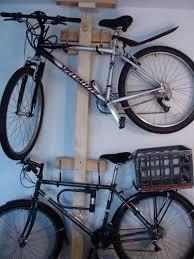 stunning garage bike rack for two bikes