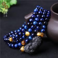 blue tiger eye bracelet tiger eye