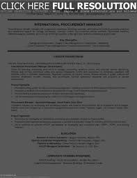 Sourcing Manager Resume Resume Work Template