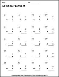 Timed Math Addition Worksheets 1st Grade - free printable math ...math worksheet : simple addition problems for first graders free 1st grade math : Timed Math