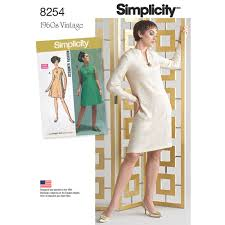 Vintage Simplicity Patterns Inspiration 48s Vintage Dress For Miss And Plus Sizes Simplicity Sewing