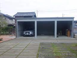 イナバ 物置 ガレージ