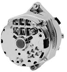 powermaster 17294 alternator internal regulator 100 amp chrome gm