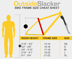 Bicycle Bicycle Sizes