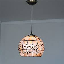 10 inch retro tiffany pendant lights