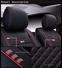 special leather car seat cover for ford all models mondeo focus fiesta edge explorer taurus