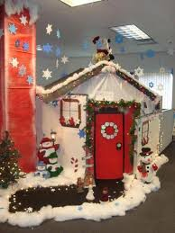 office decorations for christmas. totally doing this nxt christmas :-) holiday cubicle decorating office decorations for l