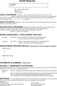 Casual Resume Example resume Babysitting Resume Sample 35