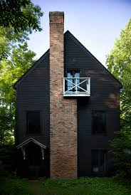 collect this idea black exterior with chimney freshome