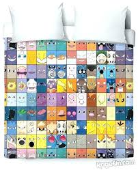 pokemon bedding set duvet cover bed set queen with every single wish big bedding set pokemon bedding set