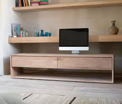 Contemporary Oak Tv Unit