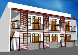 Brilliant Storey Apartment Design Exterior Modern Style For The