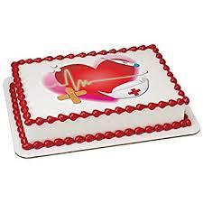 Amazoncom Nurse Edible Sheet Cake Topper 20310 Health