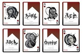 Face Card Design Playing Card Designs Designs For Playing Cards Grant